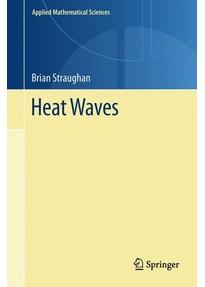 Heat Waves - brian straughan  [Gebundene Ausgabe]