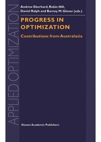 Progress in Optimization. Contributions from Australasia [Gebundene Ausgabe]