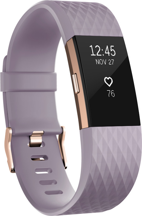 Fitbit Charge 2 Large lavendel gold