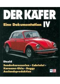 Der Käfer IV. Sonderkarosserien/Cabriolet/Karman Ghia etc // Reprint der 2. Auflage 1998 - Hans-Rüdiger Etzold  [Gebundene Ausgabe]