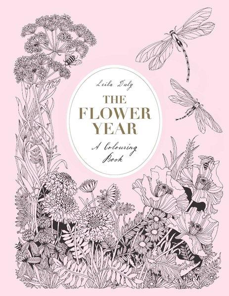 The Flower Year. A Colouring Book[Gebundene Aus...