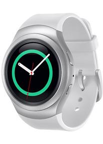 Samsung Galaxy Gear S2 3G 30.2mm argent et bracelet perle blanc [Wi-Fi + 3G]
