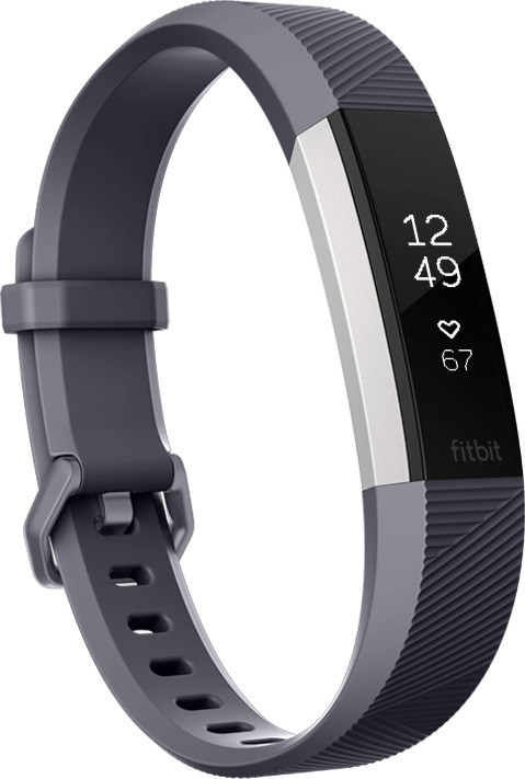 Fitbit Alta HR Small blaugrau
