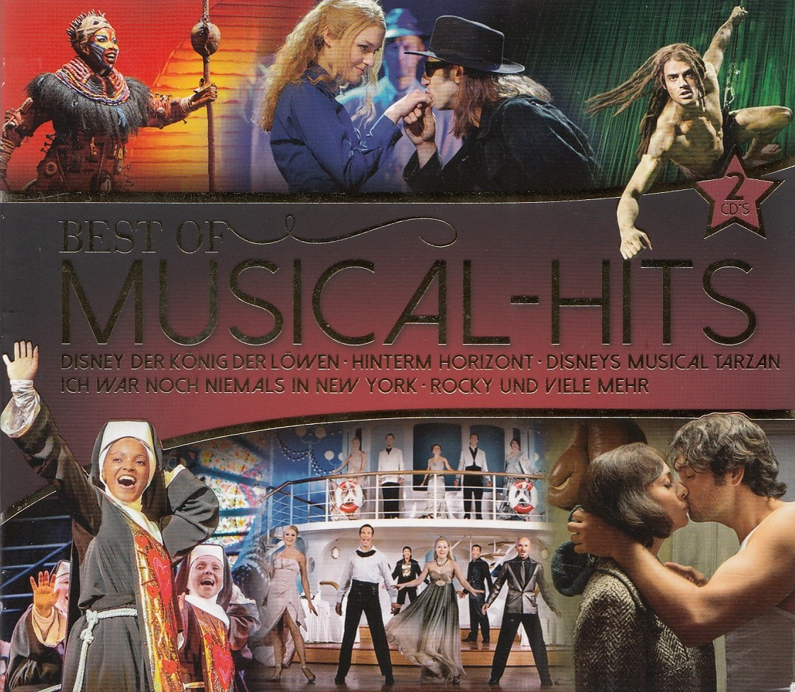 Various - Best of Musical-Hits [2 CDs]
