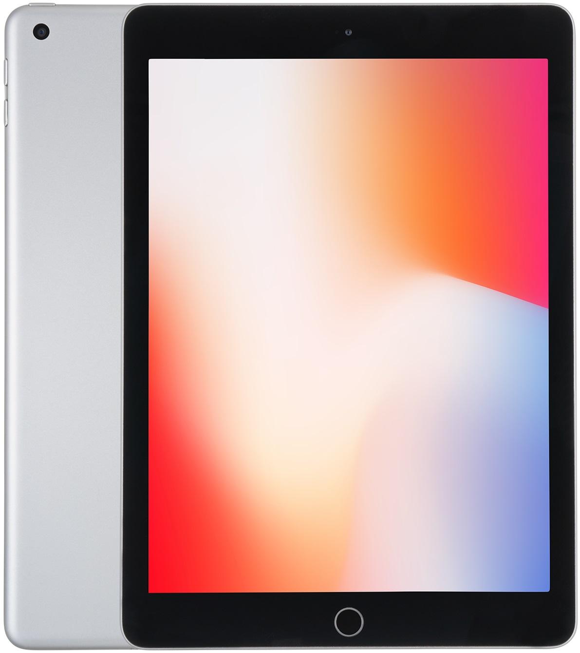 Apple iPad 9,7 128GB [Wi-Fi + Cellular, Modell 2018] silber