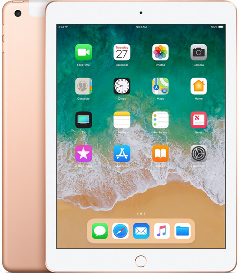 Apple iPad 9,7 128GB [Wi-Fi + Cellular, Modell 2018] gold