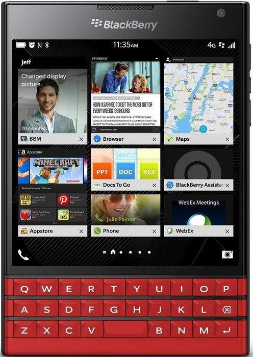 Blackberry Passport 32GB rot