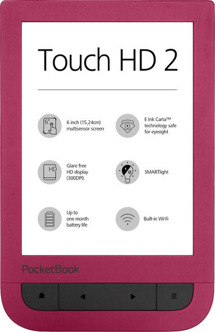PocketBook Touch HD 2 6 8GB [Wi-Fi] ruby red