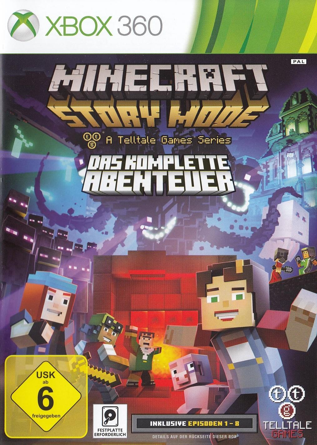 Minecraft: Story Mode - Das Komplette Abenteuer