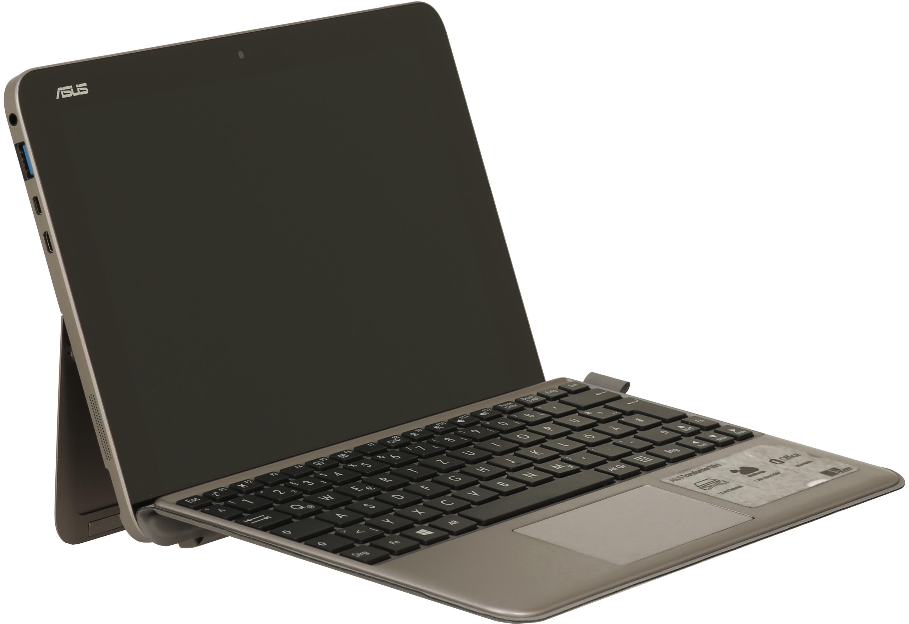 Asus Transformer Book Mini T102HA 10,1 1,4 GHz Intel Atom 64GB eMMC [Wi-Fi, inkl. Keyboard Dock] glacier gray