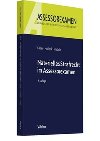 Materielles Strafrecht im Assessorexamen - Torsten Holleck  [Taschenbuch]