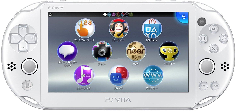 Sony PlayStation Vita Slim [Wi-Fi, JP Import] weiß