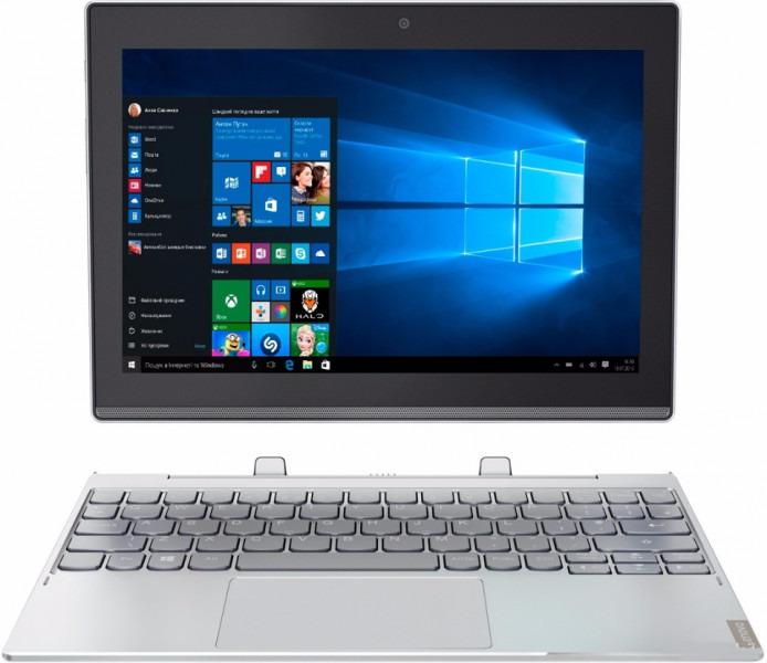 Lenovo IdeaPad Miix 320 10,1 1,44 GHz Intel Atom 64GB eMMC 4GB RAM [Wi-Fi + 4G, inkl. Keyboard Dock] silber