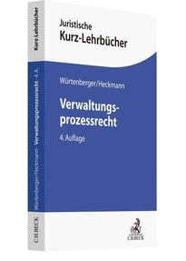 Verwaltungsprozessrecht. Ein Studienbuch - Dirk Heckmann  [Taschenbuch]