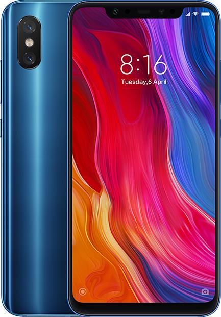 Xiaomi Mi 8 Dual SIM 128GB blau