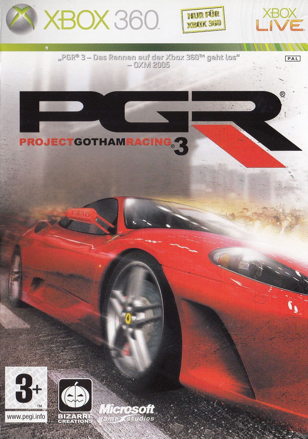 Project Gotham Racing 3 [CH Import]
