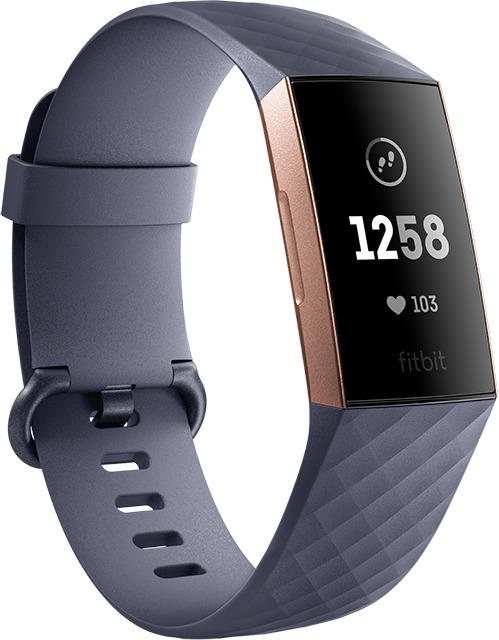 Fitbit Charge 3 blaugrau