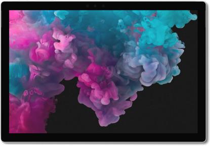 Microsoft Surface Pro 6 12,3 1,9 GHz Intel Core i7 1TB SSD [Wi-Fi] platin grau