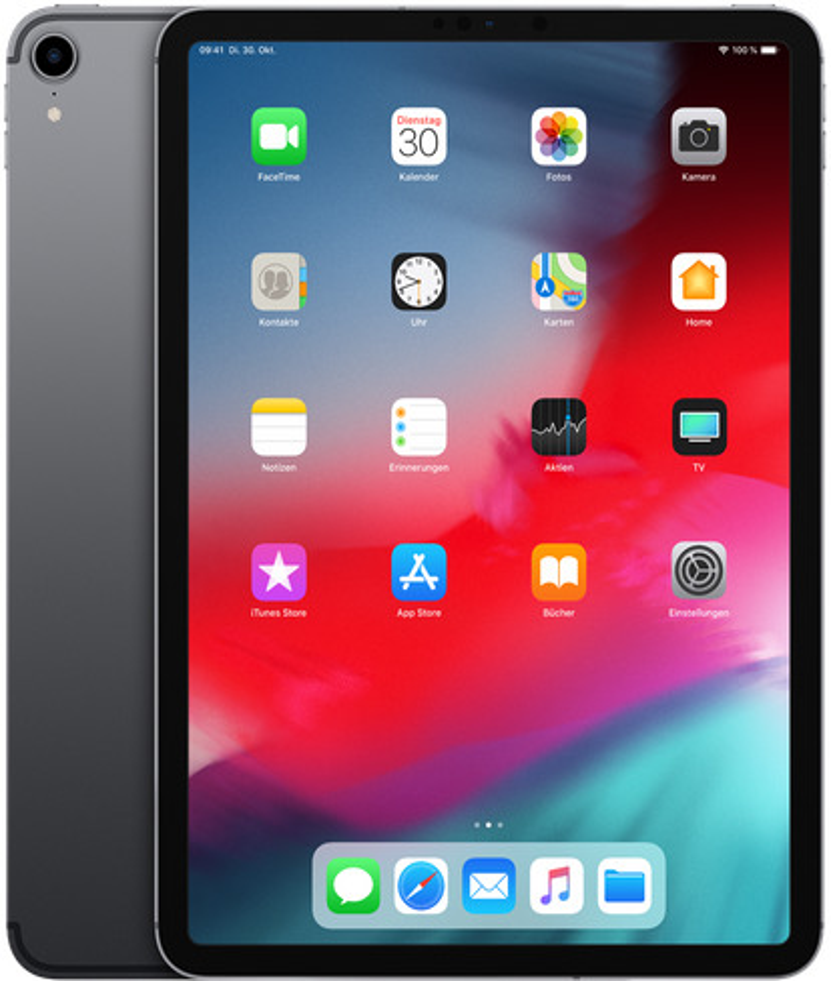 apple ipad pro 11 256gb [wi-fi, modello 2018] space grigio