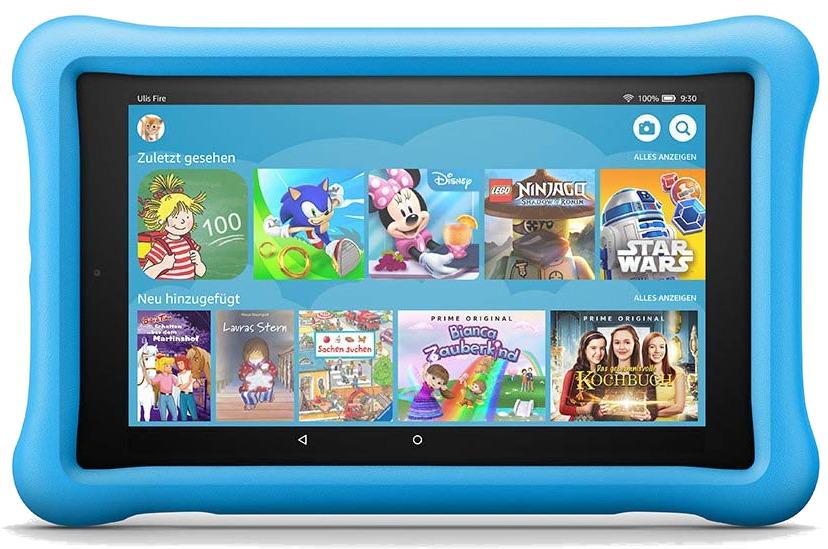Amazon Fire HD 8 8 32GB [Wi-Fi, Kids Edition, Modell 2018] blau