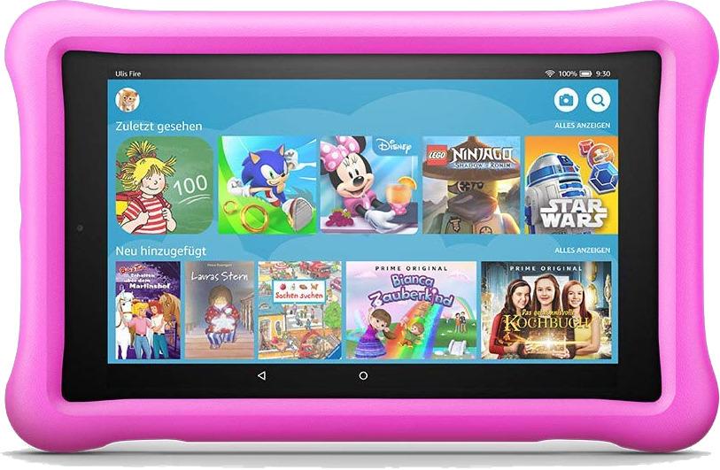 Amazon Fire HD 8 8 32GB [Wi-Fi, Kids Edition, Modell 2018] pink