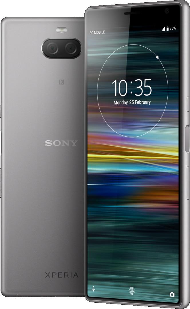 Sony Xperia 10 Plus Dual SIM 64GB silver