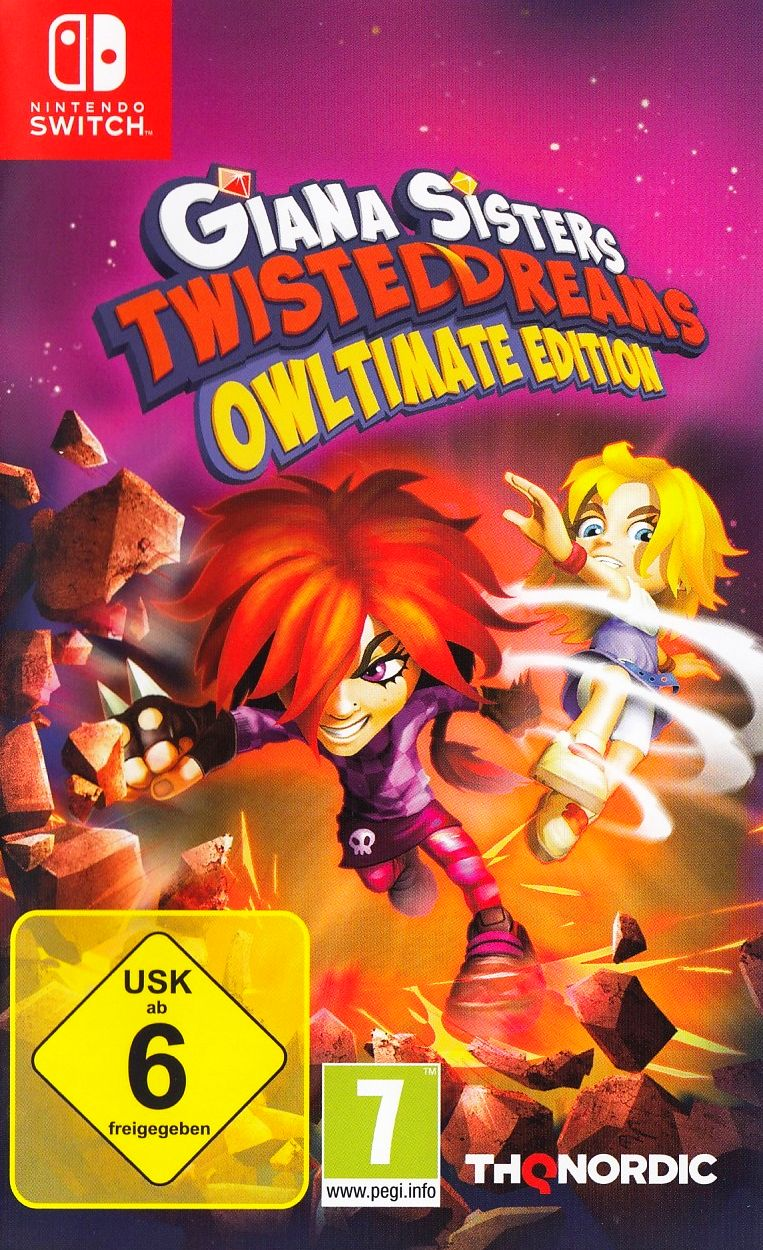 Giana Sisters: Twisted Dreams [Owltimate Edition]