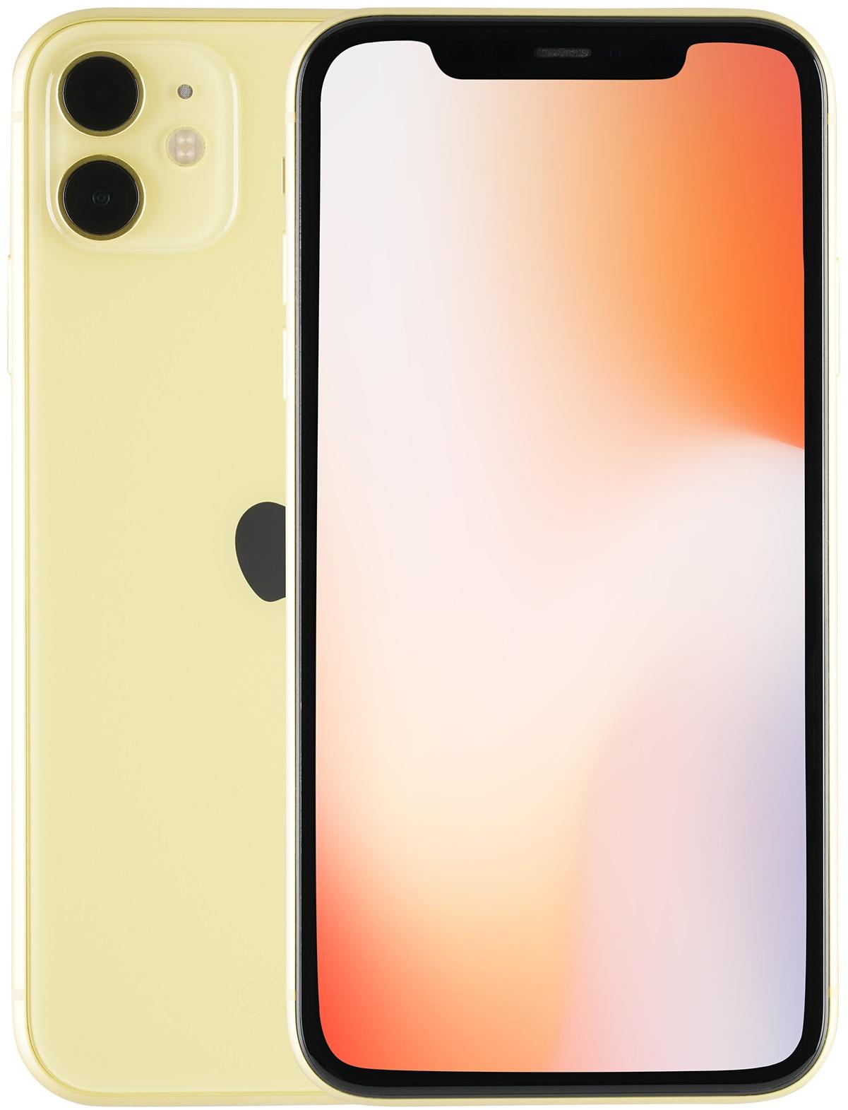 Apple iPhone 11 64GB giallo (Ricondizionato)