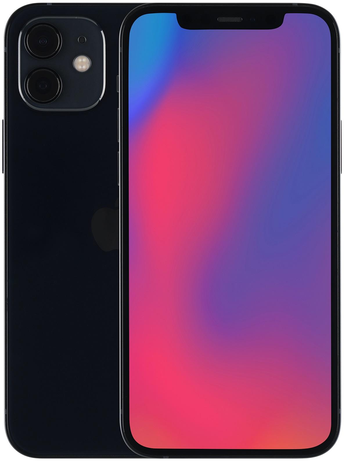 Apple iPhone 12 64GB nero (Ricondizionato)